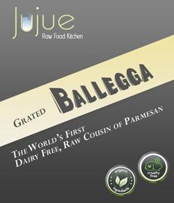 Ballegga - Raw, Plant-based cousin of Parmesan